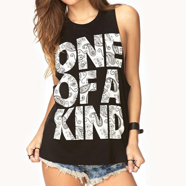 BN F21 ONE OF A KIND MUSCLE TANK
