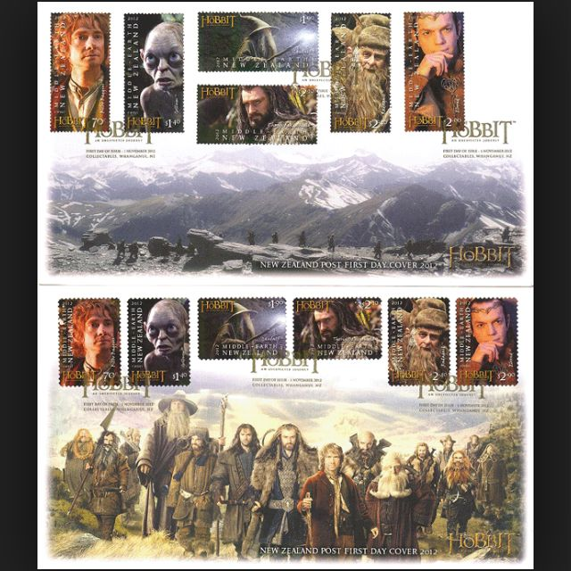 The Hobbit First Day Cover 2012