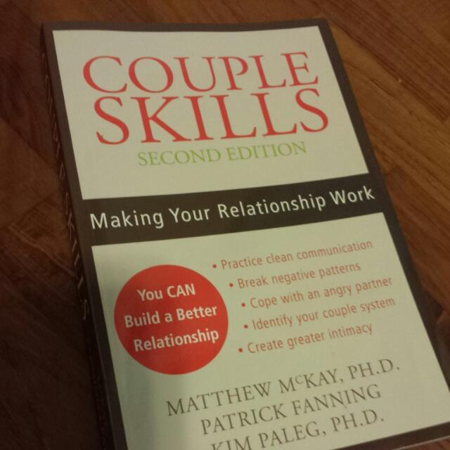 Couple Skills By Matthew Mckay Books Stationery On Carousell