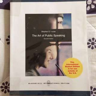 GEM2027 : The Art Of Public Speaking 11th Ed