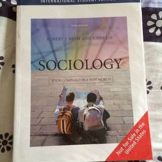 SC1101e : Sociology - Your Compass For A New World 3rd Edition