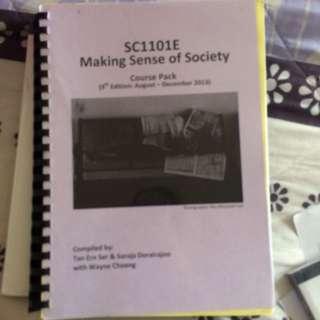 SC1101e Coursepack