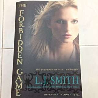 The Forbidden Game by LJ Smith (full trilogy)