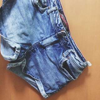 Zara Demin Hot Pants