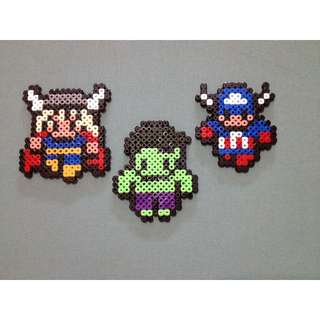 Marvel Heroes Magnets