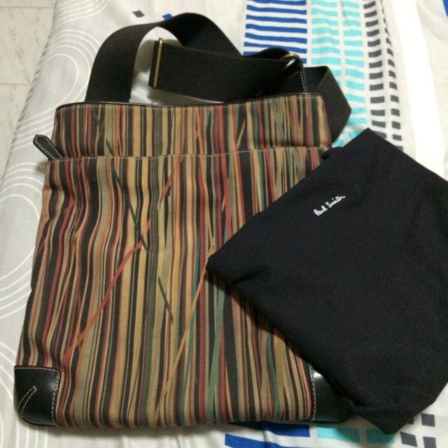 Paul Smith Canvas Shoulder Bag