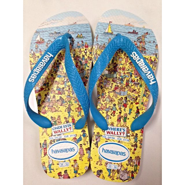 5a4102add9ae05 Limited Edition- Where s Wally  Havaianas Flip Flop Sandals
