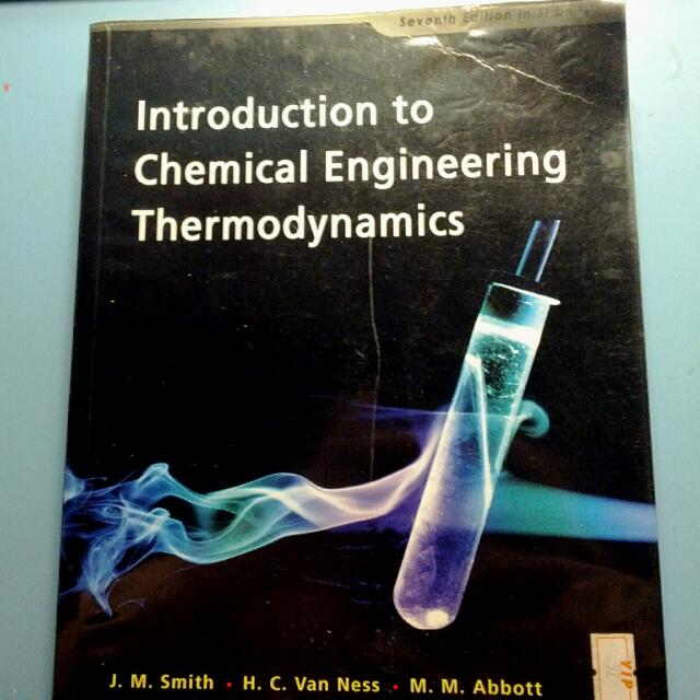 Cn2121 textbook introduction to chemical engineering thermodynamics photo photo photo fandeluxe Choice Image