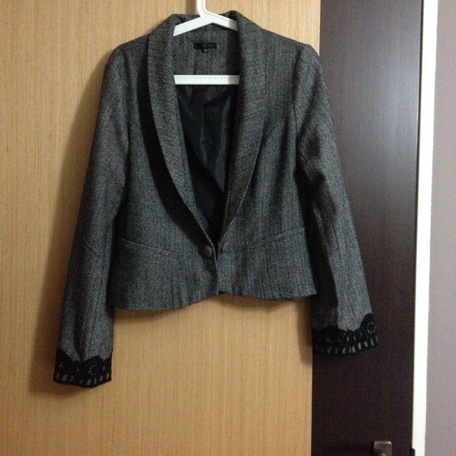BN Tweed Grey Blazer