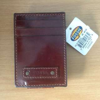 Fossil Money Clipper And Card Holder BN