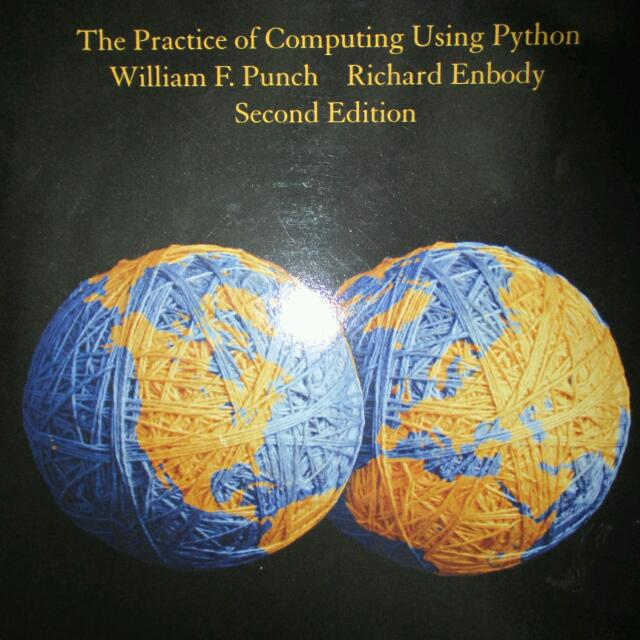 CZ1003, The Practice of Computing Using Python, Second Ed