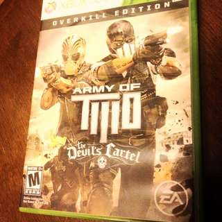 Army Of Two: The Devil's Cartel {USED} (Xbox 360)