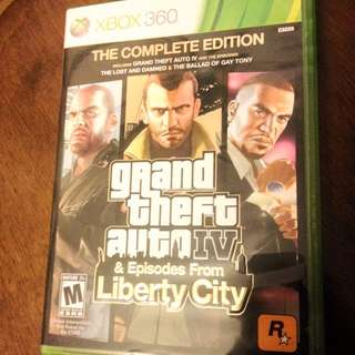 Grand Theft Auto IV & Episodes From Liberty City {USED} (Xbox 360)