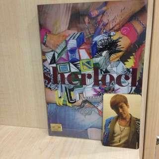 SHINee Sherlock Album w JH photocard