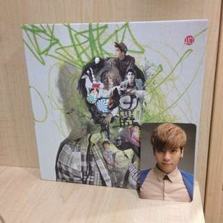 SHINee Dream Girl: Misconceptions Of You w JH photocard