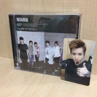 Exo-M MAMA w Kris photocard (PENDING)