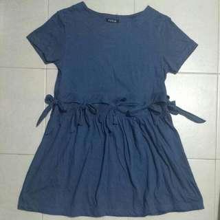 Blue BabyDoll Dress (BRAND NEW)