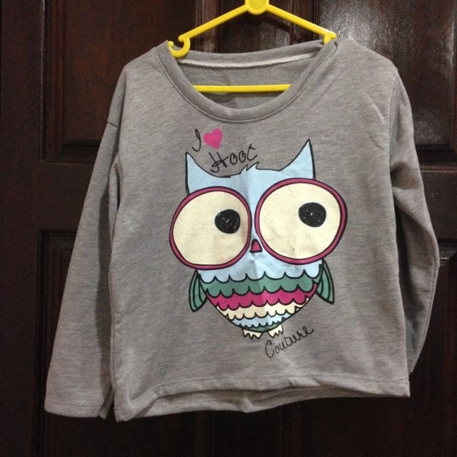 Cropped Owl Top (pending)