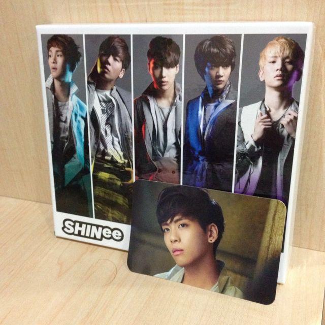 SHINee Fire w JH photocard