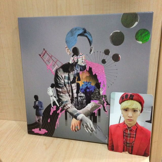 SHINee Why So Serious: Misconceptions Of Me w Key Photocard