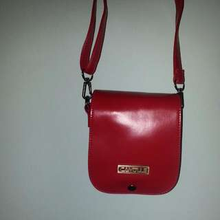 BN RED INSTAX MINI 25S LEATHER CASING