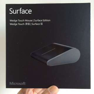 BNIB Microsoft Special-Edition Wedge Touch Mouse for Surface