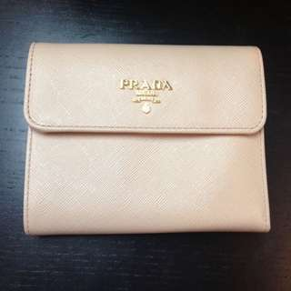 BN PRADA WALLET AUTHENTIC