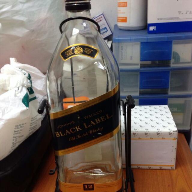 Johnny Walker Black Label Bottle Giant Size Qyop!!