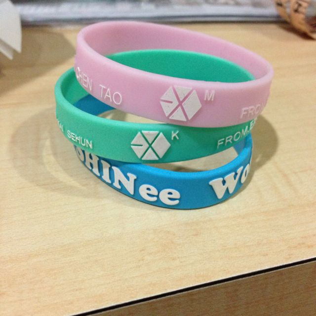 Shinee, Exo K And Exo M Bands (pending)