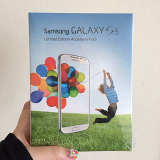 BNIB: Samsung Galaxy S4 Limited Edition Accessory Pack