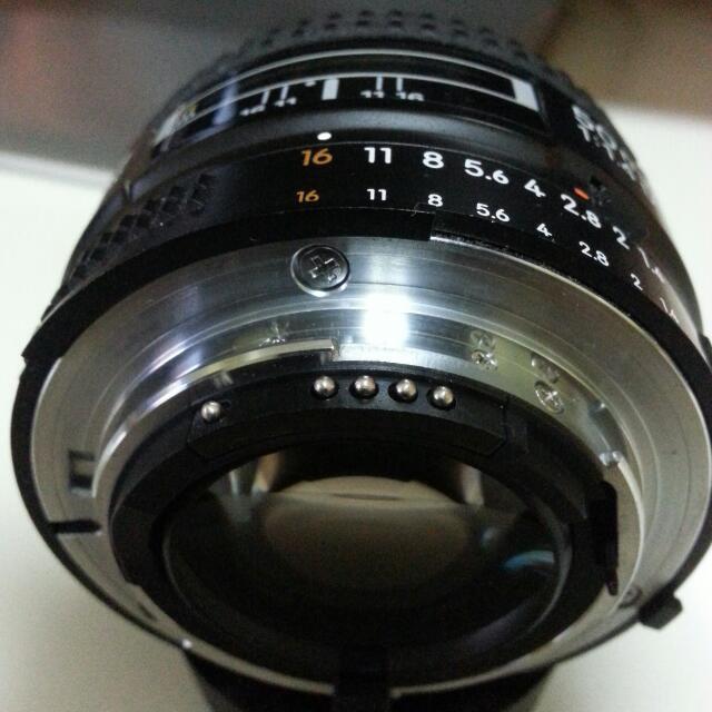 Nikon Lense 50mm F1.4d