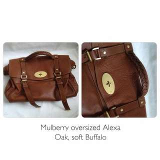 *moving Out Sale* Mulberry Oversized Alexa