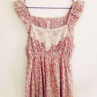 Springfield Floral Babydoll Dress