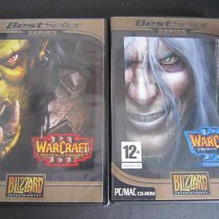 Warcraft 3 Reign Of Chaos + Frozen Throne