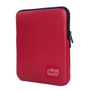 Brand New Manhattan Portage Vinyl Red iPad Sleeve