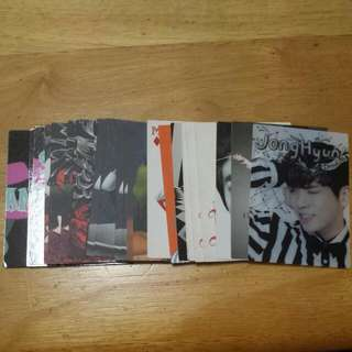 SHINee In Wonderland Star Collection Card