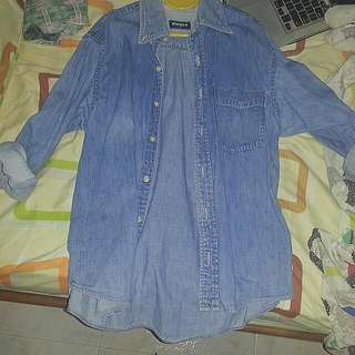 Uniqlo Vintage Denim Shirt
