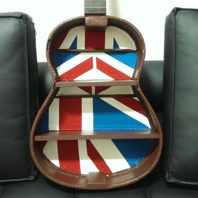 Upcycled Guitar Shelf