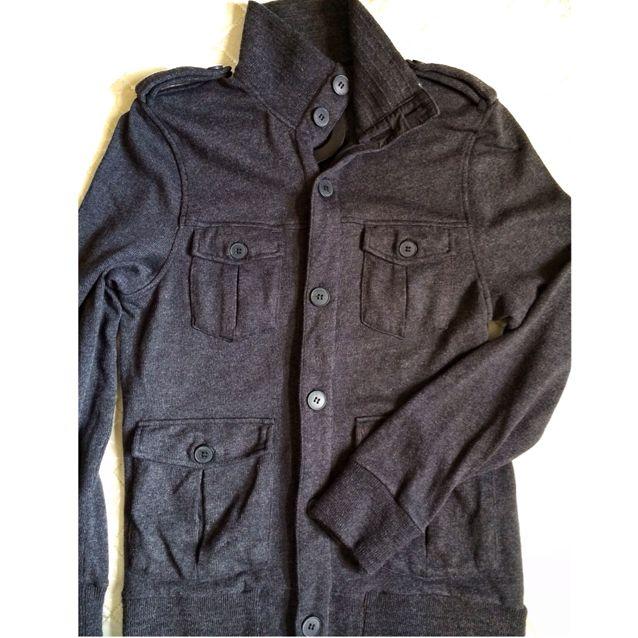 H&M Ash Black Pocket Jacket