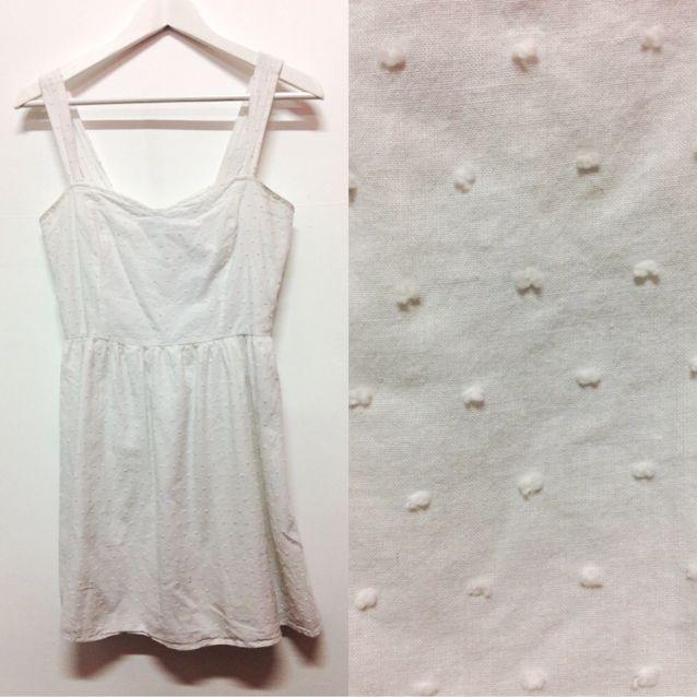 Heart Shaped White Dress