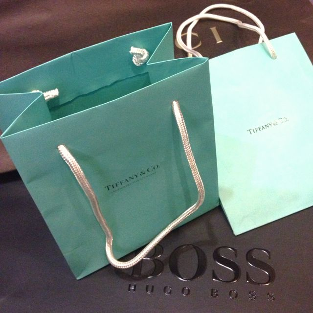 aa722bb237 Small Tiffany & Co Paper Bag, Luxury on Carousell