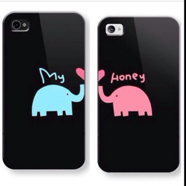 Custom Couple Iphone Case