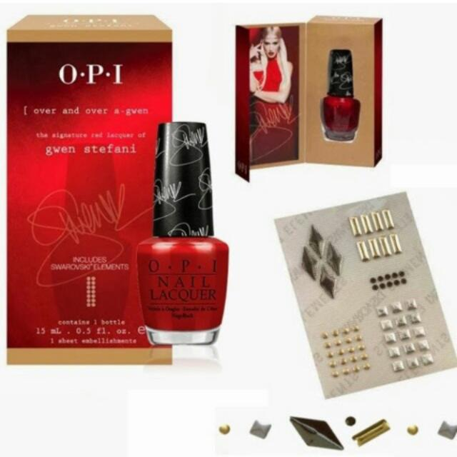 OPI GWEN STEFANI SERIES. Over And Over A Gwen