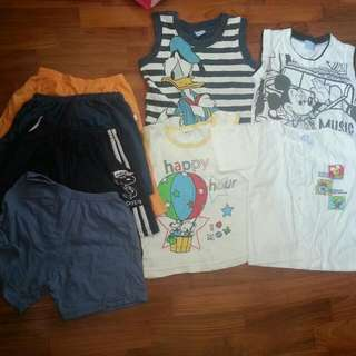 Baby Boy Clothes Lot For 2 Years Old $12 Mailed
