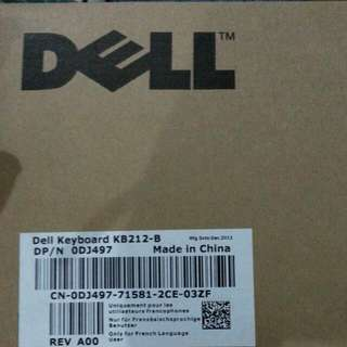 QYOP BN Dell Keyboard KB212-B