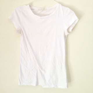 f21 basic white t-shirt