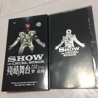 Show Luo 罗志祥 Show On Cruel Stage Concert CD