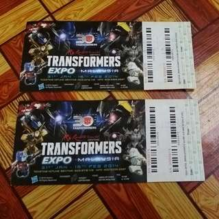 Transformers Expo Tickets