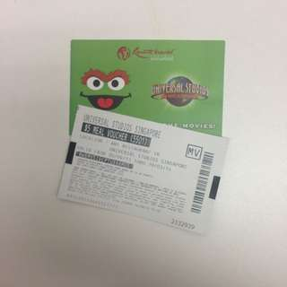 USS Tickets + $5 meal Voucher