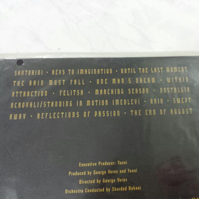 Yanni Live At The Acropolis Original LD